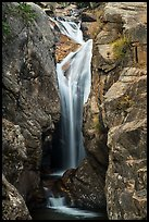 Chasm Falls. Rocky Mountain National Park ( color)