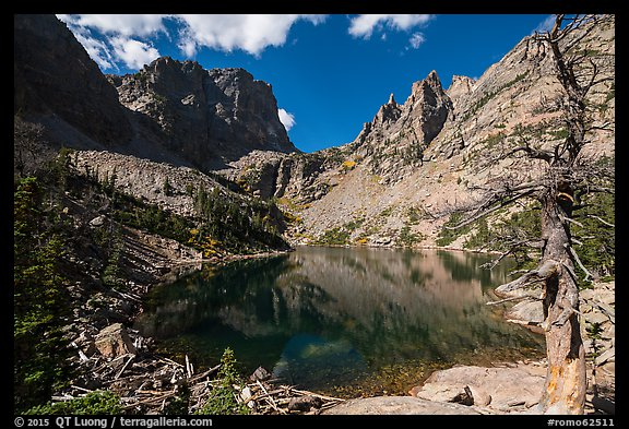 Emerald Lake. Rocky Mountain National Park (color)