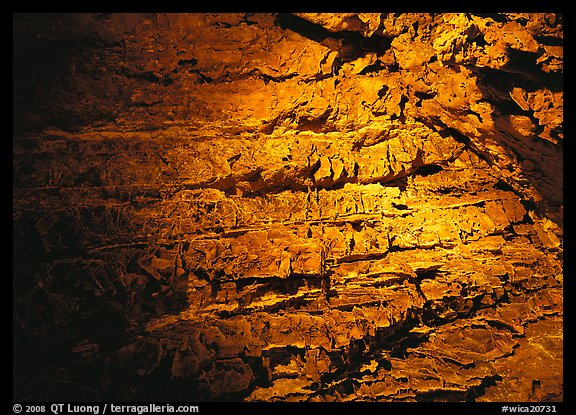Cave concretions. Wind Cave National Park (color)