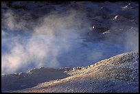 Mud cauldron at fountain paint pot. Yellowstone National Park, Wyoming, USA. (color)