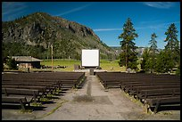 Amphitheater, Madison Campground. Yellowstone National Park ( color)