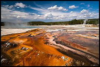 Rainbow Pool, Black Sand Basin. Yellowstone National Park ( color)