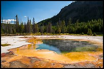 Emerald Pool, Black Sand Basin. Yellowstone National Park ( color)