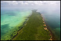 Aerial view of Elliott Key. Biscayne National Park ( color)