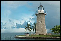 Boca Chita Lighthouse, early morning. Biscayne National Park ( color)