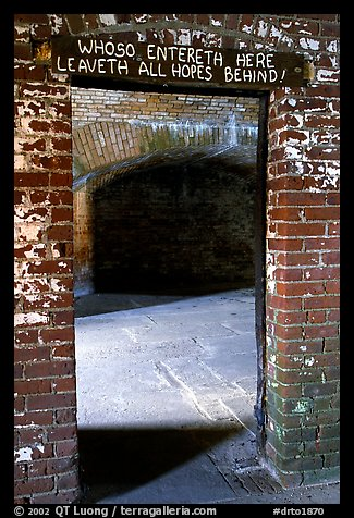 Cell of Dr Mudd. Dry Tortugas National Park (color)