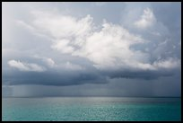 Storm clouds above ocean. Dry Tortugas National Park ( color)