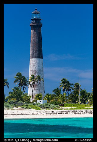 150-feet Loggerhead Light. Dry Tortugas National Park (color)