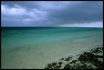 Approaching storm from Bush Key. Dry Tortugas National Park, Florida, USA.