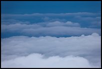 Clouds from above. Haleakala National Park ( color)