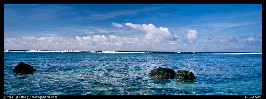 Reefs and tropical waters, Ofu Island. National Park of American Samoa (color)