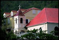 Moravian church, Coral Bay. Saint John, US Virgin Islands