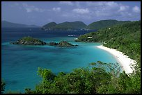 Trunk Bay. Virgin Islands National Park, US Virgin Islands. (color)