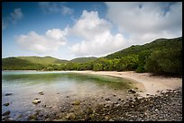 Little Lameshur beach. Virgin Islands National Park ( color)