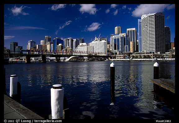 Darling harbour. Sydney, New South Wales, Australia
