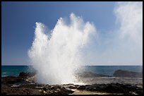 Spouting horn blowhole. Kauai island, Hawaii, USA