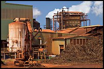 Sugar cane factory. Kauai island, Hawaii, USA ( color)