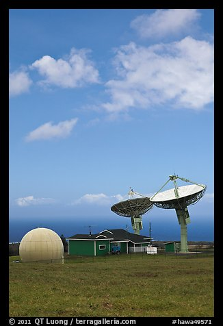 Pete Conrad Ground Station. Big Island, Hawaii, USA (color)