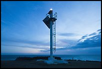 Ka Lea Light at dusk, southernmost point in the US. Big Island, Hawaii, USA ( color)