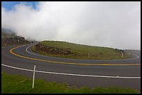 Hairpin bend. Maui, Hawaii, USA ( color)
