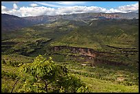 Downriver from Waimea Canyon. Kauai island, Hawaii, USA ( color)