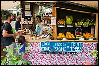 Produce stand, Pahoa. Big Island, Hawaii, USA ( color)