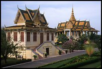 Royal palace. Phnom Penh, Cambodia ( color)