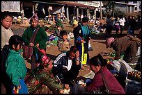 The Huay Xai market. Laos ( color)