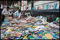 Used books for sale. Yangon, Myanmar ( color)