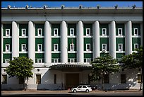 Administrative colonial-area building. Yangon, Myanmar ( color)
