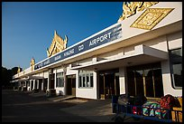 Bagan airport. Bagan, Myanmar ( color)