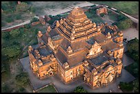 Aerial view of Dahmmayan Temple. Bagan, Myanmar ( color)