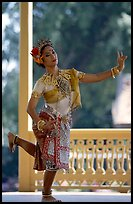 Traditional dancer. Bangkok, Thailand ( color)