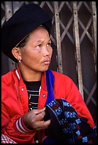 Tribeswoman. Chiang Rai, Thailand ( color)