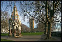 Buxton Memorial Fountain in the Victoria Tower Gardens. London, England, United Kingdom (color)