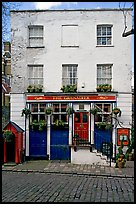 Pub the Grenadier, and cobblestone mews. London, England, United Kingdom ( color)