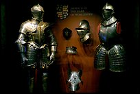 Armour of the Earl of Worcester on display in the White House, Tower of London. London, England, United Kingdom (color)