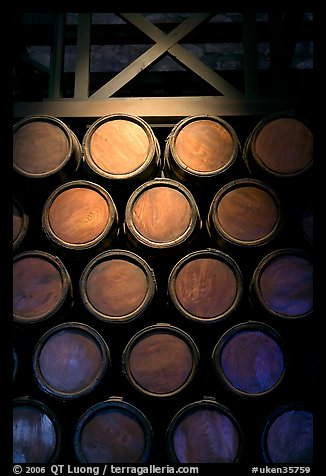 Barrels of gunpowder in the White House, Tower of London. London, England, United Kingdom (color)
