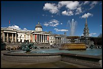 Trafalgar Square. London, England, United Kingdom (color)