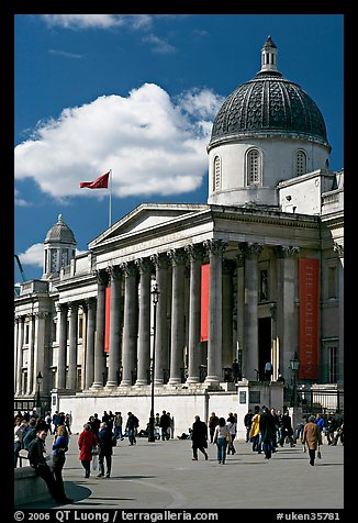 National Gallery. London, England, United Kingdom (color)