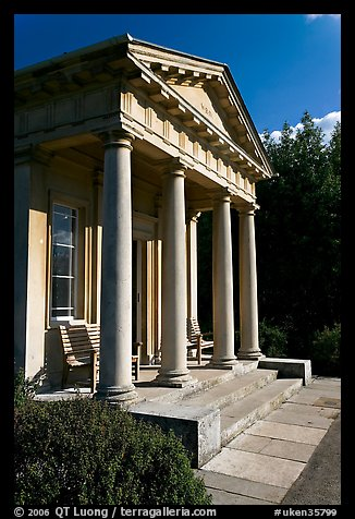 King William's temple. Kew Royal Botanical Gardens,  London, England, United Kingdom (color)