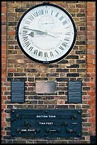 Shepherd 24-hour gate clock, and public standard of length, Royal Observatory. Greenwich, London, England, United Kingdom ( color)