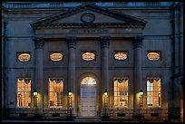 Pump Room at dusk. Bath, Somerset, England, United Kingdom ( color)