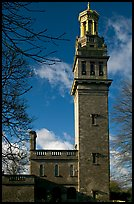 Beckford tower with topmost gilded belvedere. Bath, Somerset, England, United Kingdom ( color)