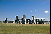 Megalithic monument, Stonehenge, Salisbury. England, United Kingdom ( color)