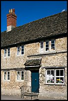 Medieval village stone house,  Lacock. Wiltshire, England, United Kingdom ( color)