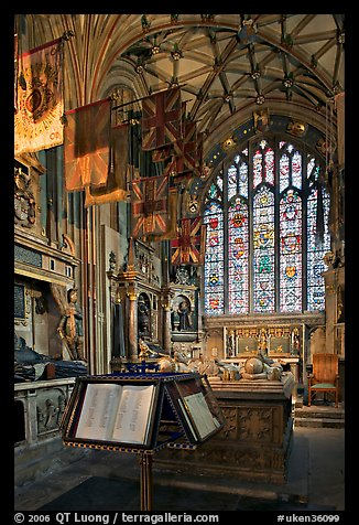 Memorial Book of Names, a page of which is turned daily  in the St Michael Chapel, Canterbury Cathedral. Canterbury,  Kent, England, United Kingdom (color)