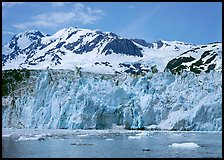 Front of Surprise Glacier. Prince William Sound, Alaska, USA ( color)