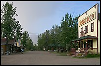 Main street. McCarthy, Alaska, USA ( color)