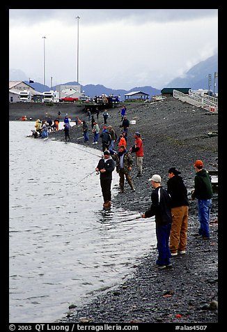 The Fishing Hole. Homer, Alaska, USA (color)